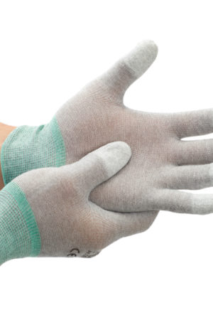 Hygiene und Sicherheit Karbonstrick Handschuhe ESD