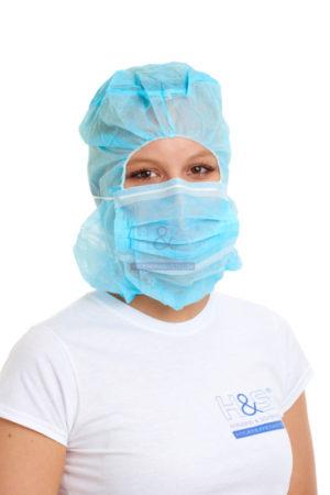 Hygiene und Sicherheit Astrohaube
