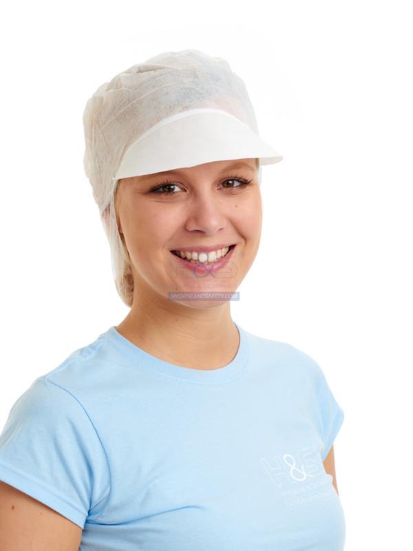Hygiene und Sicherheit PP Schildhaube Haarschutz